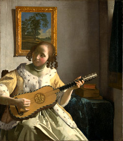 Baroque Guitar, Vermeer